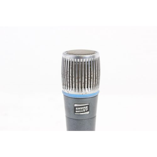Shure Beta 57 Supercardioid Dynamic Microphone in Pouch C1122-657 top