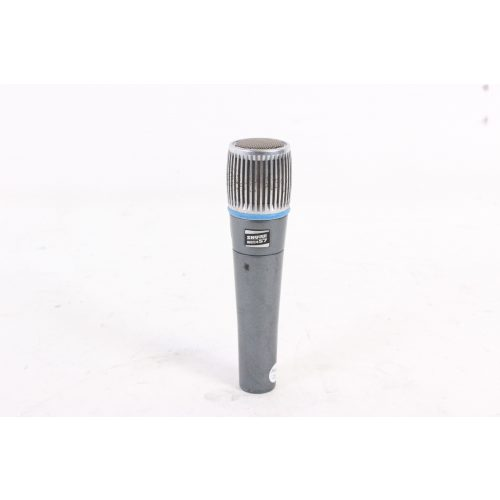 Shure Beta 57 Supercardioid Dynamic Microphone in Pouch C1122-658 mic