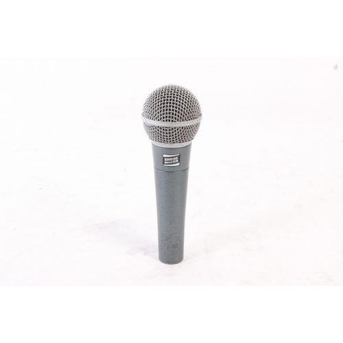 Shure Beta 58 Supercardioid Dynamic Microphone in Pouch C1122-660 mic
