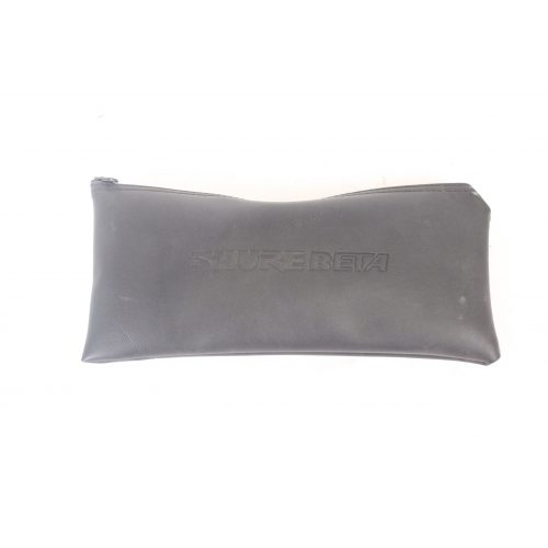 Shure Beta 58 Supercardioid Dynamic Microphone in Pouch C1122-661 POUCH