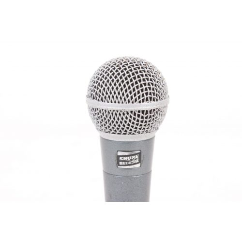 Shure Beta 58 Supercardioid Dynamic Microphone in Pouch C1122-661 TOP