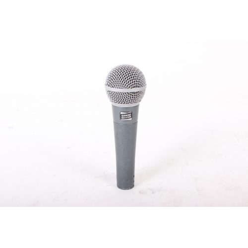 Shure Beta 58 Supercardioid Dynamic Microphone in Pouch C1122-661 MAIN
