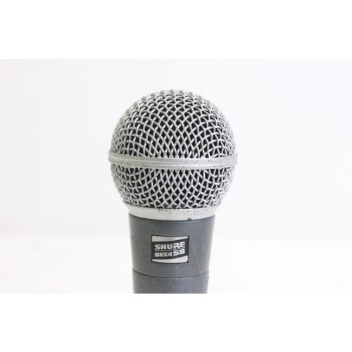 Shure Beta 58 Supercardioid Dynamic Microphone (FOR PARTS) C1122-662 TOP