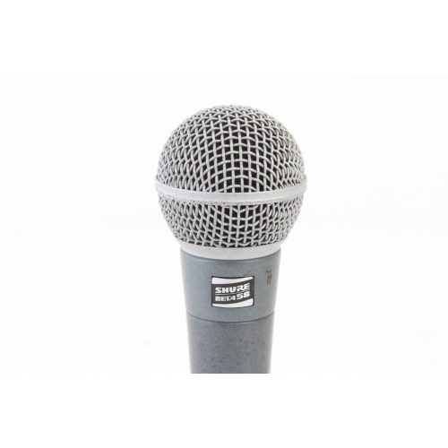Shure Beta 58 Supercardioid Dynamic Microphone in Pouch C1122-663 TOP