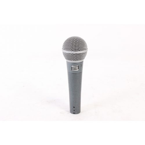 Shure Beta 58 Supercardioid Dynamic Microphone in Pouch C1122-663 MIC1