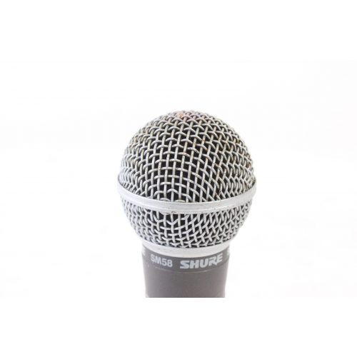 Shure SM58 Dynamic Microphone in Pouch C1122-669 TOP