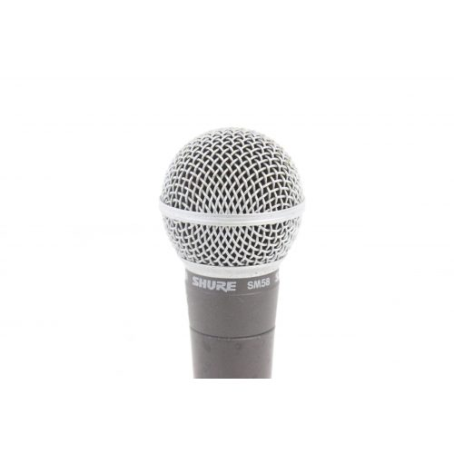 Shure SM58 Dynamic Microphone in Pouch C1122-672 TOP