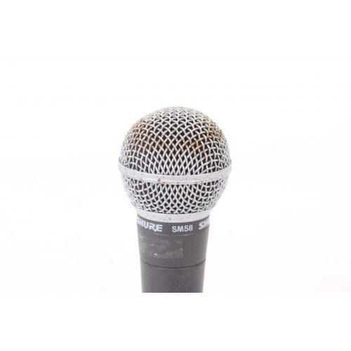 Shure SM58 Dynamic Microphone in Pouch C1122-673 TOP