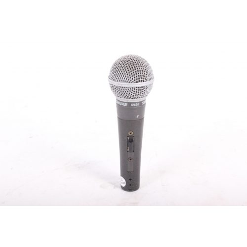 Shure SM58 Dynamic Microphone in Pouch C1122-677 MIC