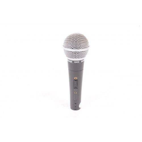Shure SM58 Dynamic Microphone in Pouch C1122-678 MIC