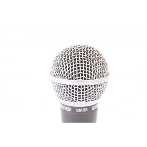 Shure SM58 Dynamic Microphone in Pouch C1122-678 TOP