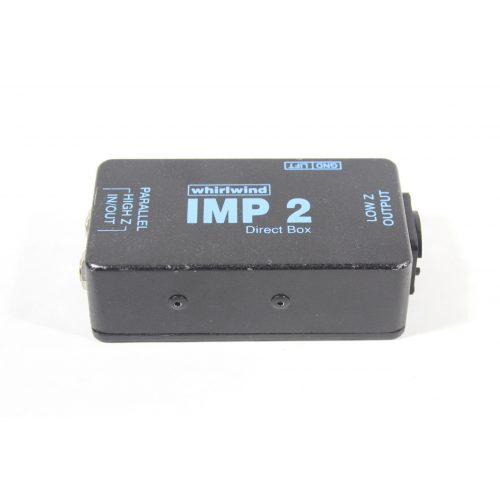 Whirlwind IMP 2 1-channel Passive Instrument Direct Box MAIN
