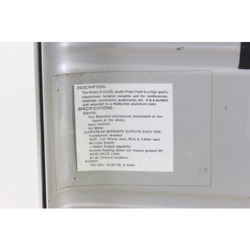 opamp-labs-inc-a-24-2ml-2-in-24-out-18-dbm-audio-press-feed-mult-box-no-internal-battery label