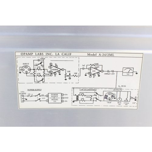opamp-labs-inc-a-24-2ml-b-2-in-24-out-audio-press-feed-mult-box LABEL