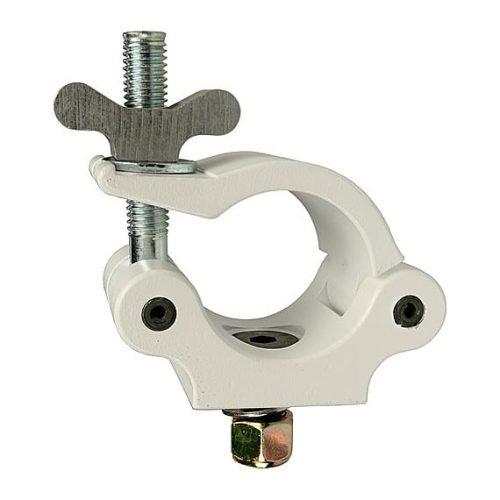 The Light Source Mega-Coupler with 3_8 Flat Head Bolt Stainless Steel Hardware Nylock Nut White Powder Coat MLW3_8SS-NN