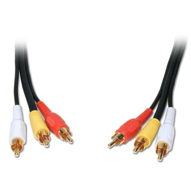 Comprehensive Cables 3RCA-3RCA Standard Series General Purpose 3 RCA Video_Audio Cable