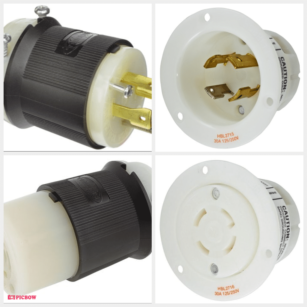 Whirlwind AC - Connector L14-30 inline male Hubbell HBL2700