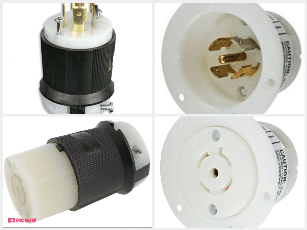 Whirlwind AC - Connector L21-20 inline male Hubbell HBL2500