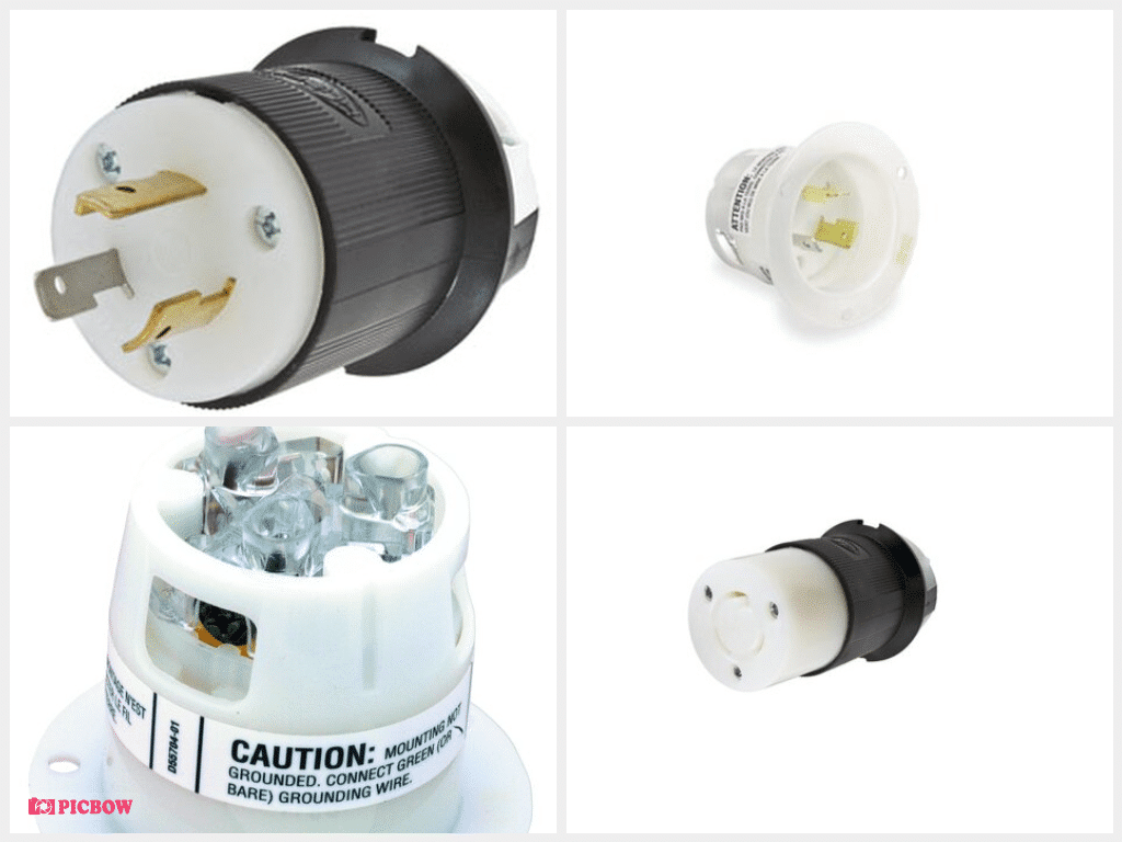 Whirlwind AC - Connector L5-20 inline male Hubbell HBL2300