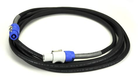 Whirlwind Cable - AC PowerCon 20A NAC3FCA to NAC3FCB W12-3 NAC3-000