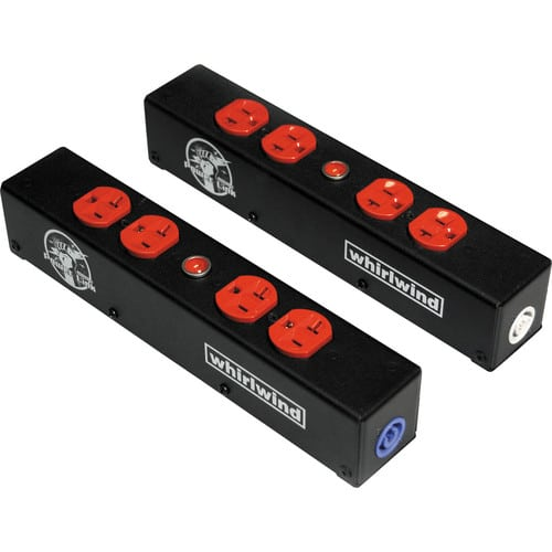 Whirlwind Power Link - PL1 Stringer PowerCon 20A I_O (2) HBL5352RD indicator lamp PL1-420-RD