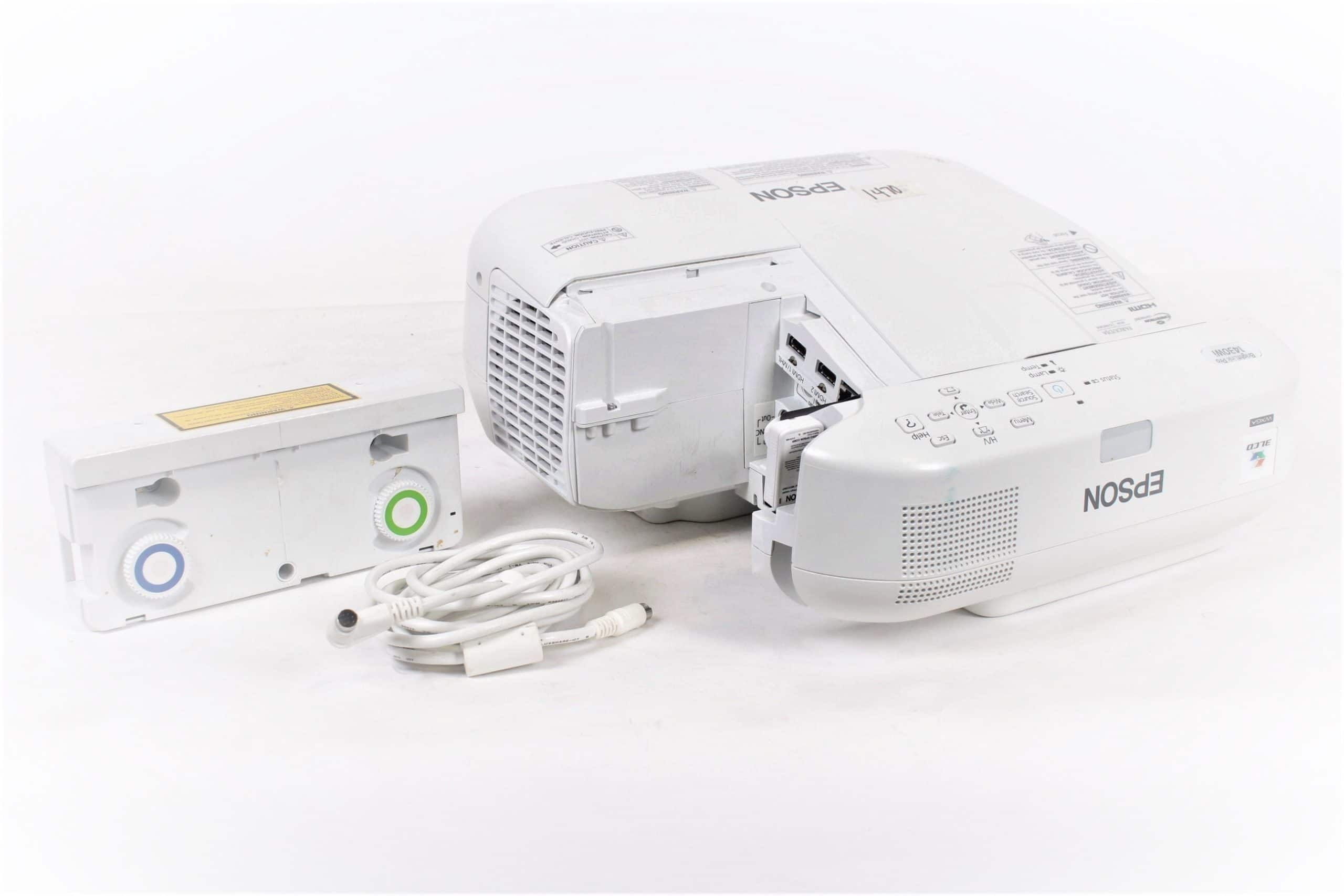epson-brightlink-pro-1430i-3300-lumens-wxga-ultra-short-throw-projector-missing-side-cover-w-h599lcu-touch-panel-no-wall-mount main