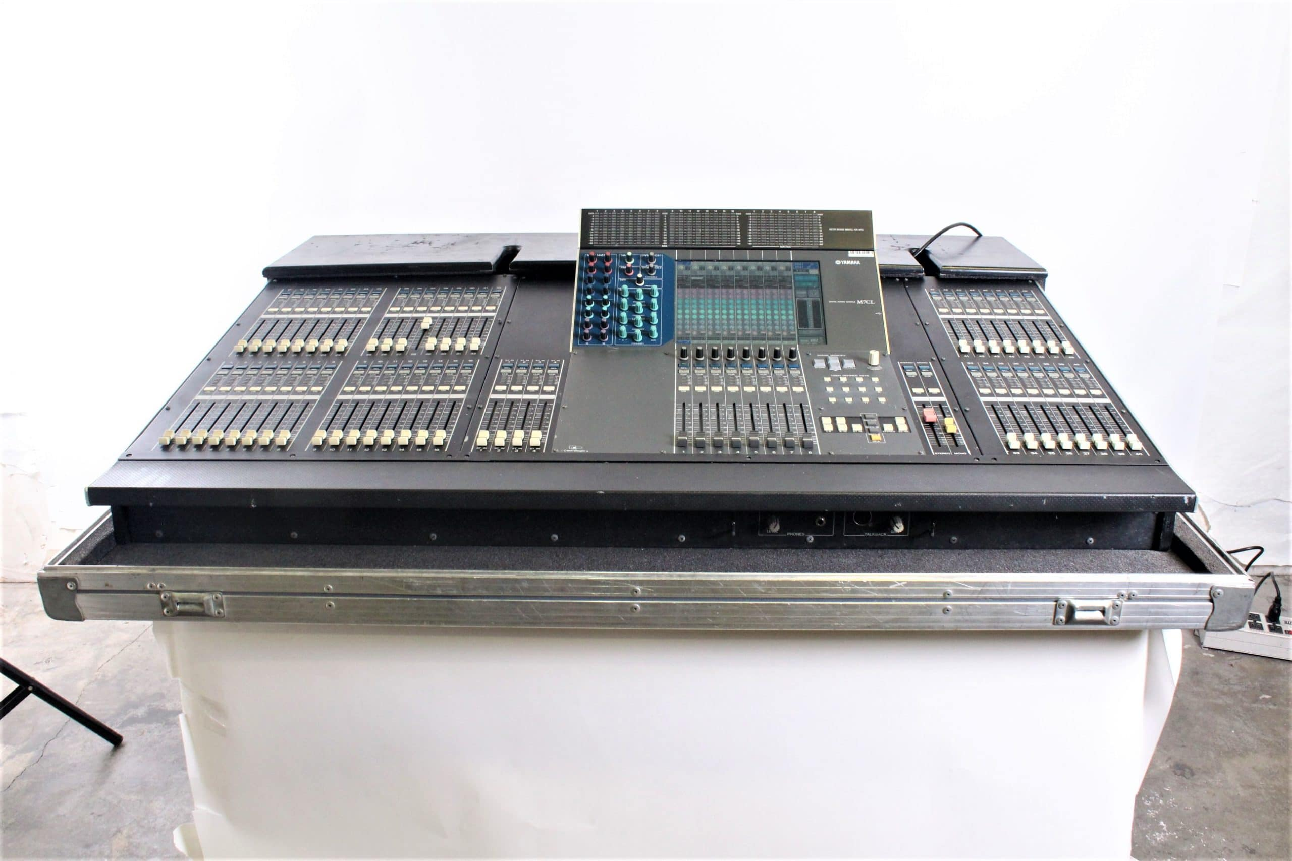 yamaha-m7cl-48-digital-audio-mixing-console-in-wheeled-road-case-1223-1 FRONT1